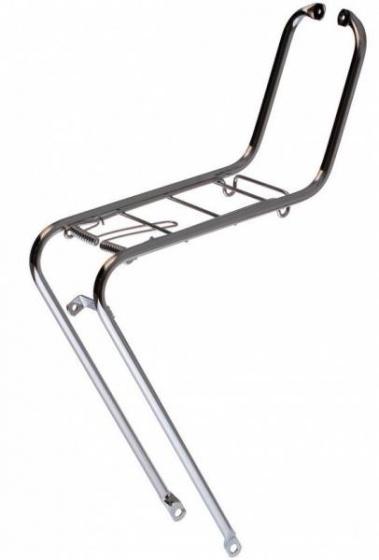 Steco voordrager 26/28 inch staal zilvergrijs