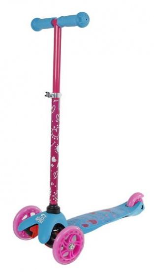 Street Rider 3-wiel Kinderstep Junior Voetrem Roze/blauw online kopen