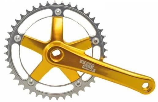 Sturmey Archer crankstel FCT66 46t goud