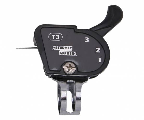 Sturmey Archer naafversteller Slst3 3S voor Sram T3 zwart