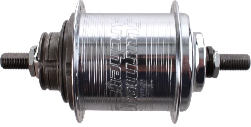 Sturmey Archer versnellingsnaaf 3V staal zilver