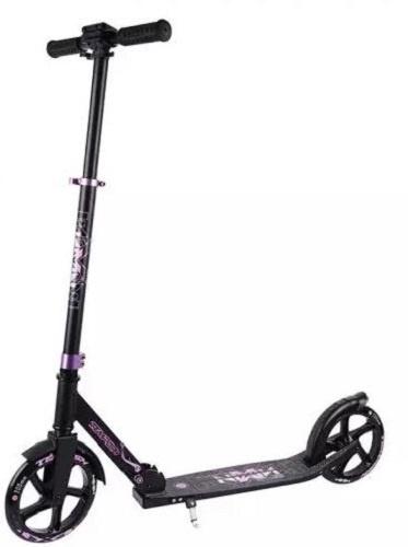 Tempish step Nixin 200 inklapbaar aluminium zwart/roze online kopen
