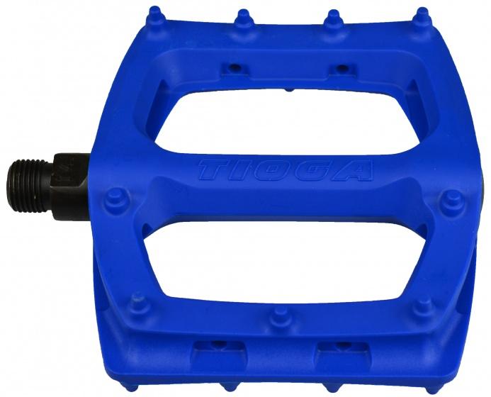 Tioga platformpedalen Surefoot Slim 110 mm 9-16 inch blauw