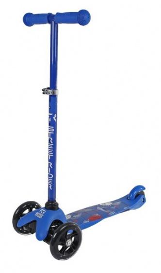 Street Rider 3-wiel Kinderstep Junior Voetrem Blauw online kopen