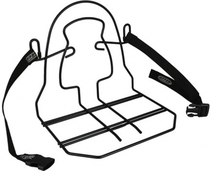 Steco bagagedragerverbreder Monkey Mee staal 31 cm zwart