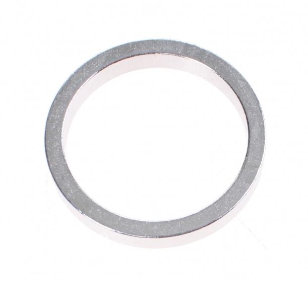 TOM balhoofdring Spacer 1 1/8 inch 5 mm zilver