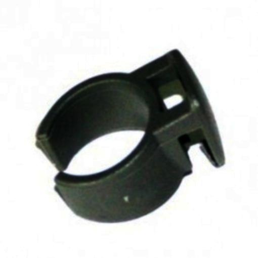 TOM bevestigingsclip jasbeschermer 20 mm zwart per stuk