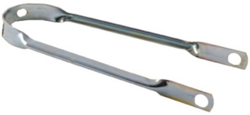 Amigo Spatbordstang Staal 16 Inch Zilver Per Stuk