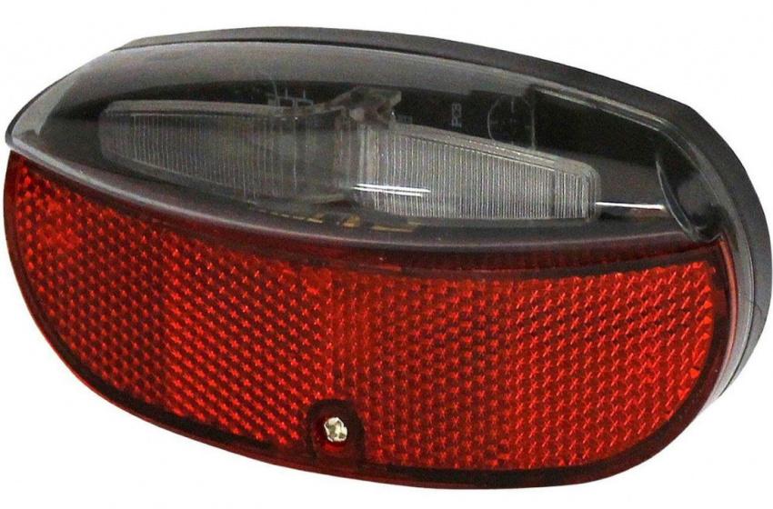 Union achterlicht led batterijen 80 mm rood