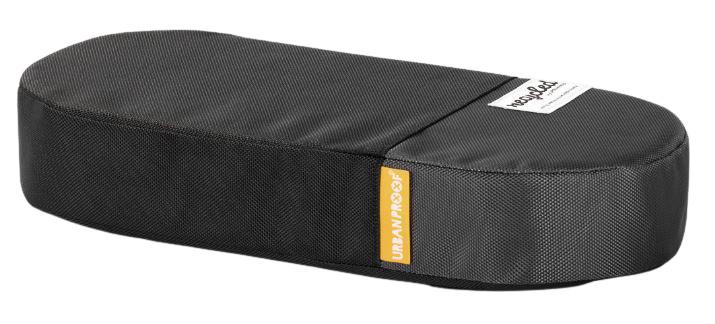 Urban Proof bagagedragerkussen 37 cm polyetheen zwart