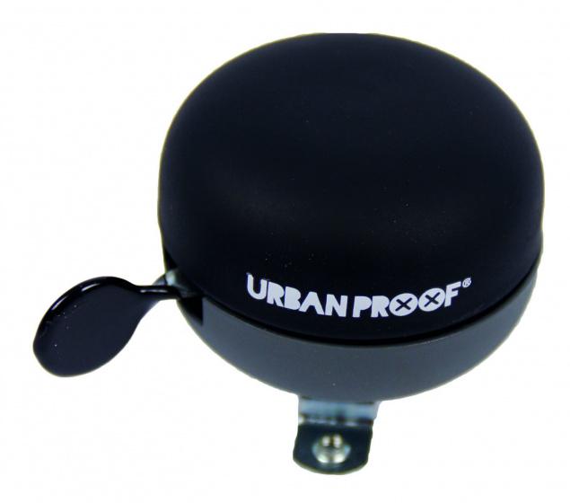 Urban Proof fietsbel ding dong 6 x 7 cm staal zwart