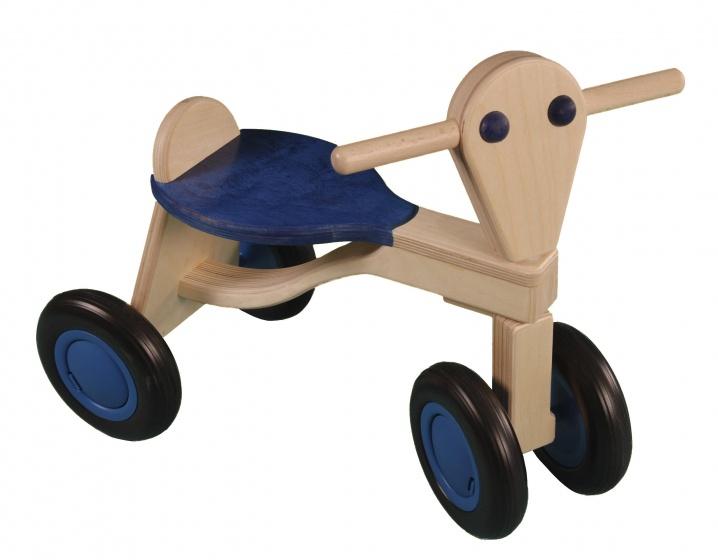 Van Dijk Toys loopfiets Berken Junior Blauw