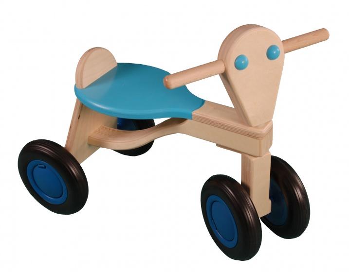 Van Dijk Toys Loopfiets Berken Junior Lichtblauw online kopen