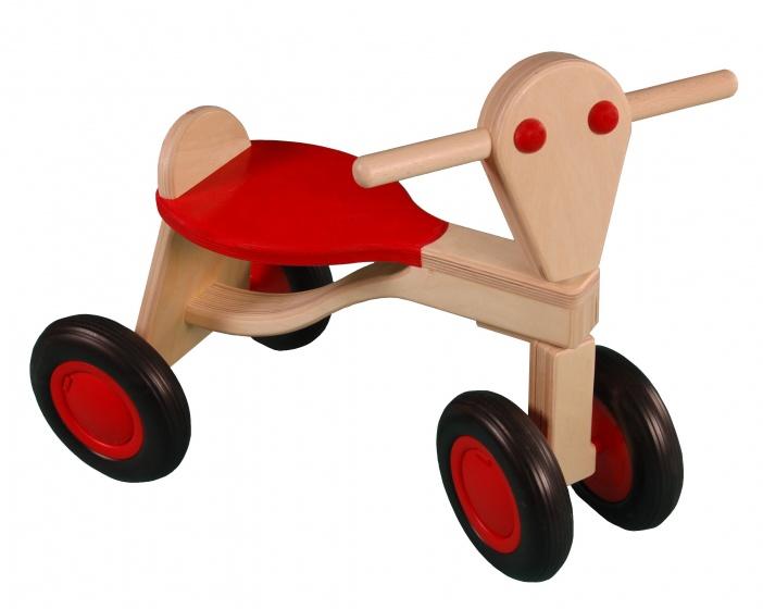Van Dijk Toys loopfiets Berken Junior Rood