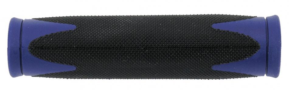Velo handvat D2 130 mm zwart/blauw per set