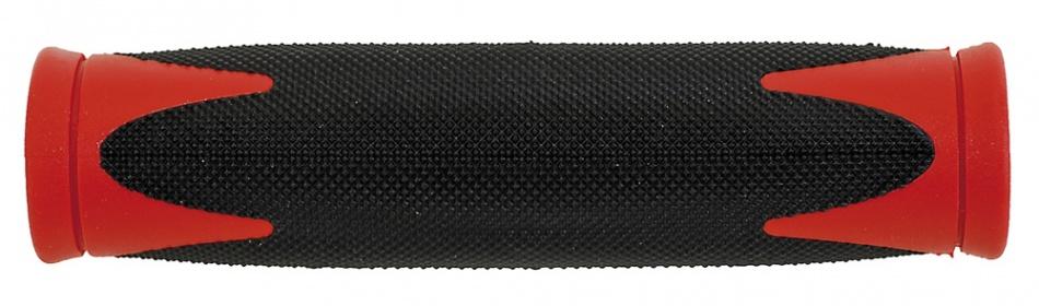 Velo handvat D2 130 mm zwart/rood per ste