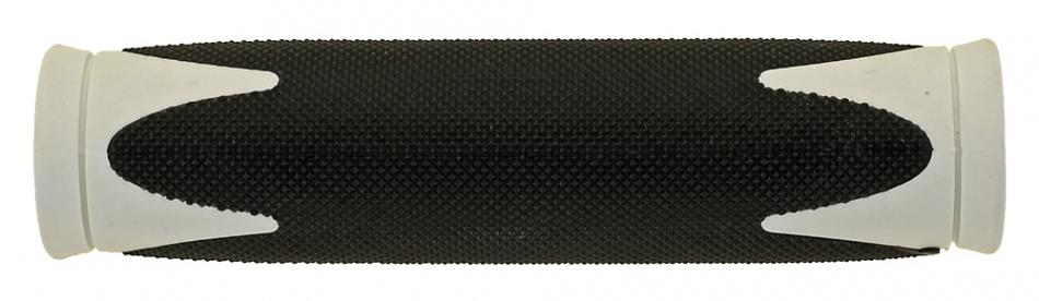 Velo handvat D2 130 mm zwart/wit per set