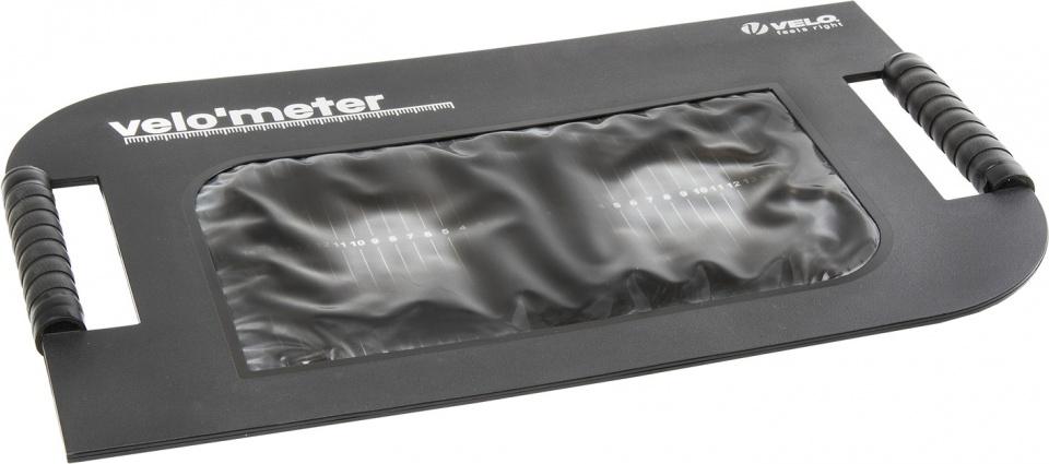 Velo zadelmeter Velometer 55 cm kunststof zwart