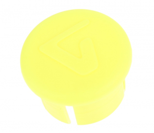 Velox Stuurdop 20 mm Fluo Geel Per Stuk