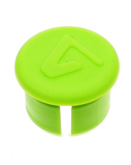Velox stuurdop fluoriserend groen per stuk