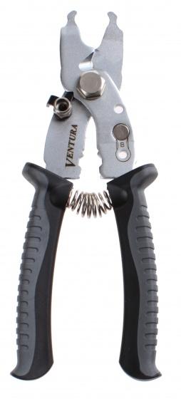 Ventura multi tang 8 functies 18 cm zilver/grijs