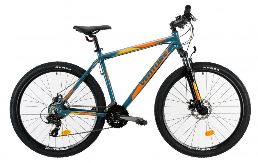 Venture 2721 mountainbike 27,5 Inch 42 cm Heren 18V Schijfrem Grijs