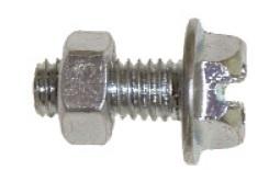 Bofix Spatbordbout verzinkt M5 x 12 mm 100 stuks (210212)