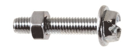 Bofix Spatbordbout verzinkt M5 x 25 mm 50 stuks (210225)