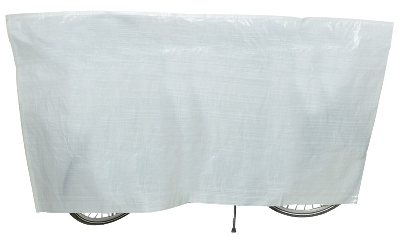 VK fietshoes wit 210 x 110 cm