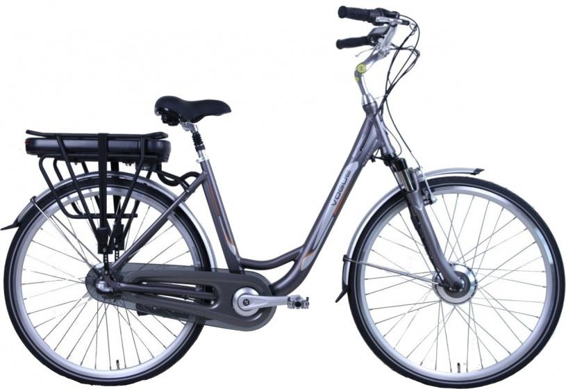 Vogue Basic 28 Inch 49 cm Dames 3V Rollerbrake Matgrijs