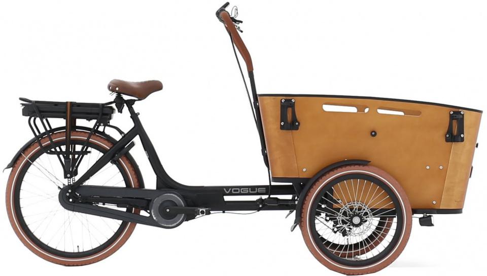 Vogue Carry 3 Fiets (elektrisch) Unisex Matzwart;Bruin 26;20 online kopen