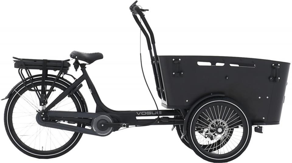 Vogue Carry 3 26 Inch 48 Cm Unisex 7v Rollerbrake Matzwart/zwart online kopen