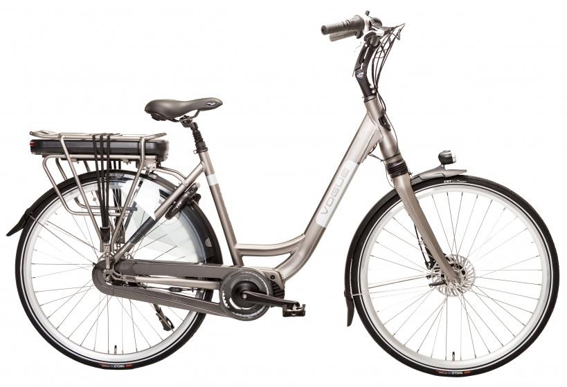 Vogue Elektrische fiets Infinity MDS dames zwart 468 Watt