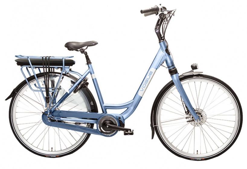 Vogue Infinity MDS 28 Inch 53 cm Dames 8V Hydraulische schijfrem Lichtblauw