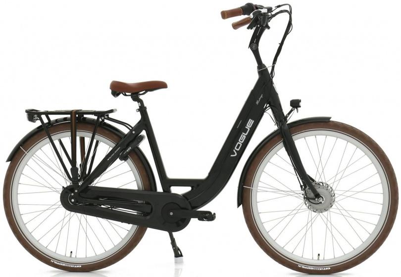Vogue Mestengo 28 Inch 49 cm Dames 8V Rollerbrake Zwart