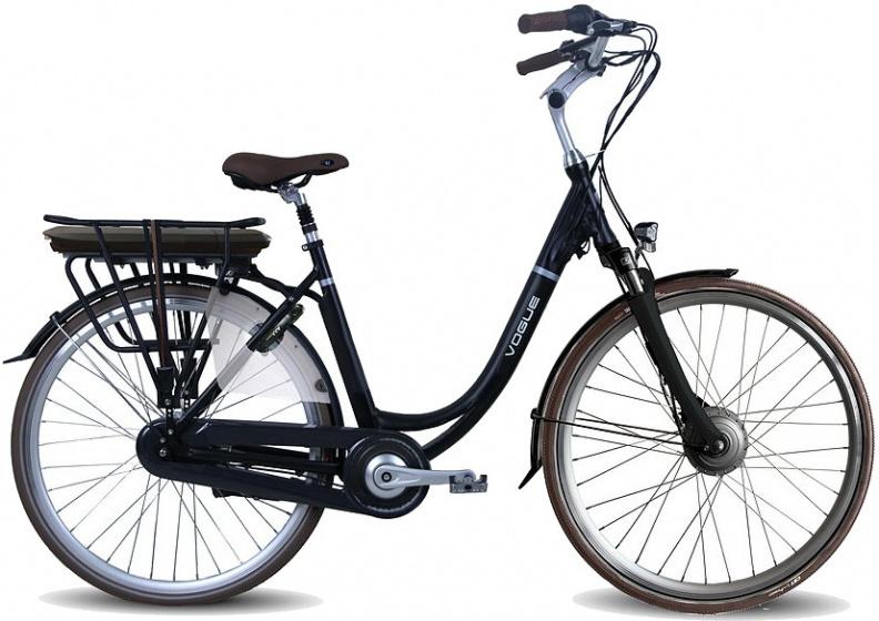 Vogue Premium 28 Inch 48 cm Dames 7V Rollerbrake Matzwart
