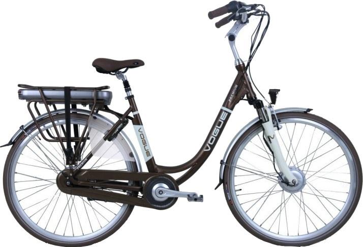Vogue Premium 28 Inch 53 cm Dames 7V Rollerbrake Bruin