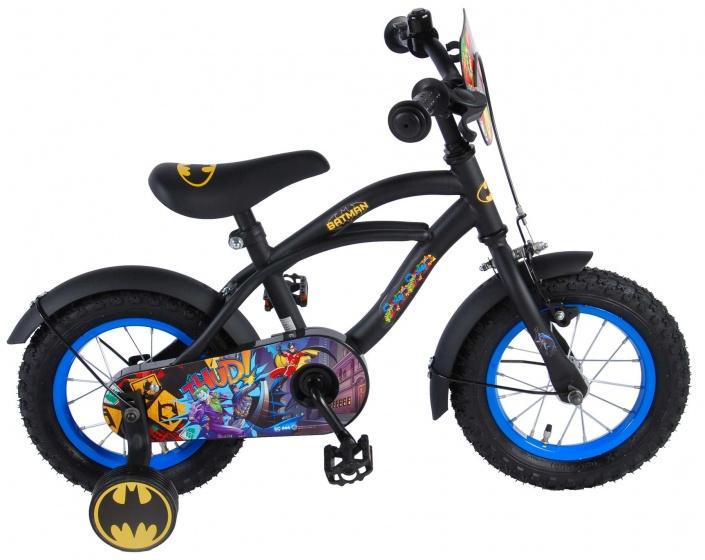 Volare Batman 12 Inch 21,5 cm Jongens Terugtraprem Zwart