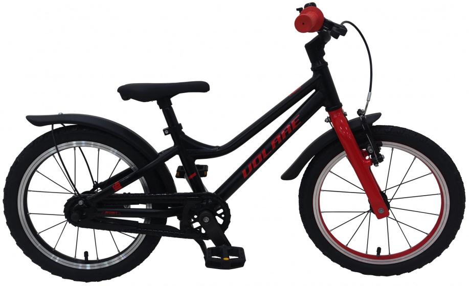 Volare Blaster Kinderfiets Jongens 16 inch Zwart Rood Prime Collection online kopen