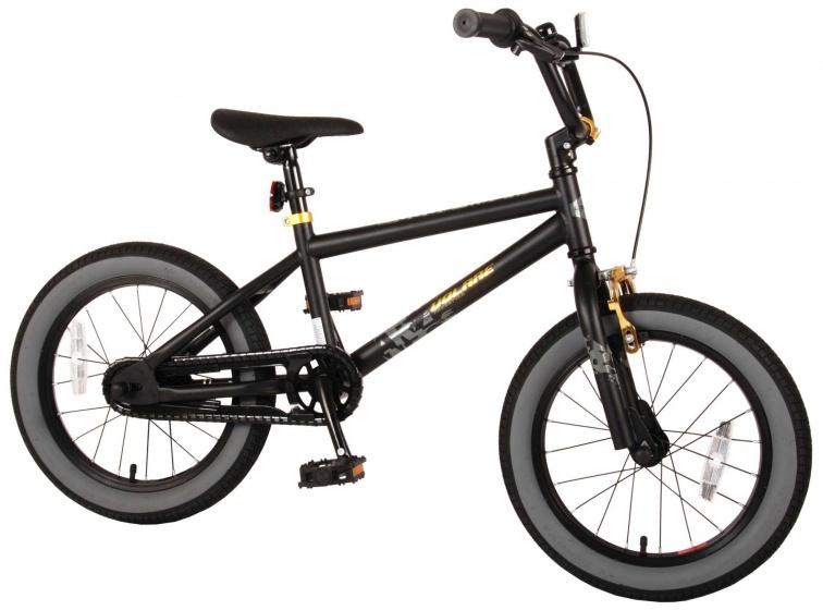 Volare Cool Rider 16 Inch 25,4 cm Jongens Terugtraprem Zwart