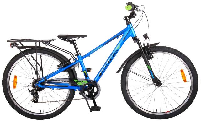 Volare Cross Kinderfiets Jongens 24 inch Blauw 6 versnellingen Prime Collection online kopen