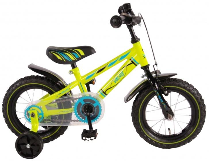 Volare Electric Green Kinderfiets Jongens 12 inch Groen 95% afgemonteerd online kopen