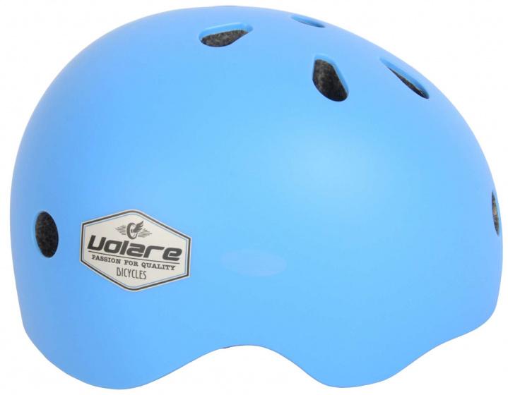 Volare fietshelm meisjes blauw maat 45 51 cm