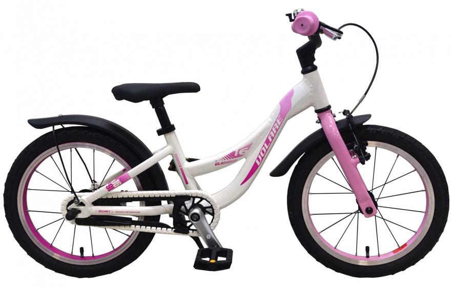 Volare Glamour Kinderfiets Meisjes 16 inch Parelmoer Roze Prime Collection online kopen