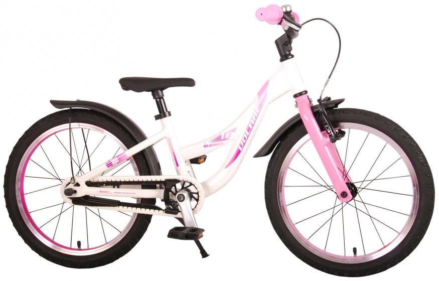 Volare Glamour Kinderfiets Meisjes 18 inch Parelmoer Roze Prime Collection online kopen