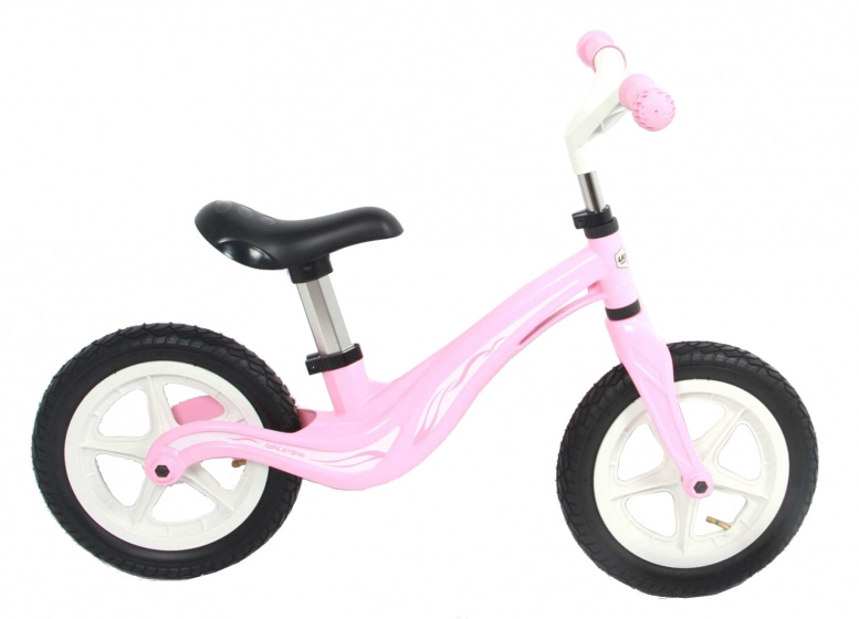 Volare Magnesium loopfiets 12 Inch Meisjes Roze