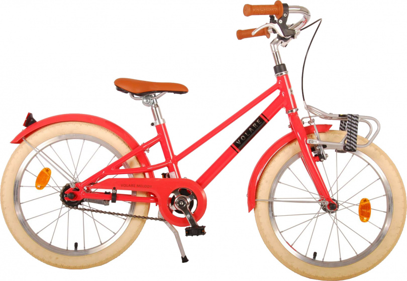 Volare Melody Kinderfiets Meisjes 18 inch Pastel Rood Prime Collection online kopen