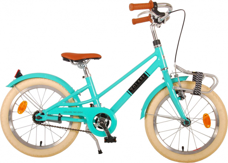 Volare Melody Kinderfiets Meisjes 18 inch Turquoise Prime Collection online kopen