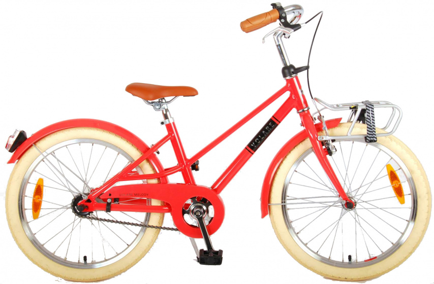 Volare Melody Kinderfiets Meisjes 20 inch Pastel Rood Prime Collection online kopen