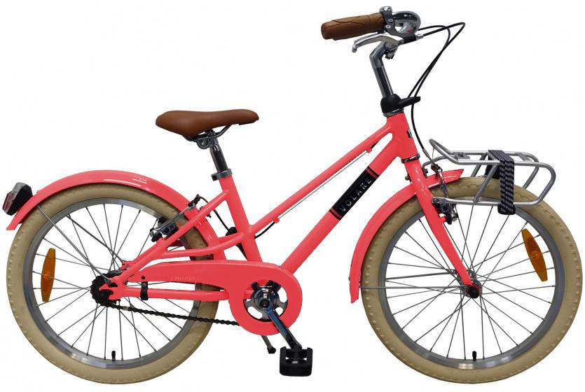 Volare Melody Kinderfiets Meisjes 20 inch Pastel Rood Twee Handremmen Prime Collection online kopen